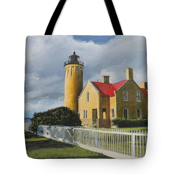 Light From Across Tote Bag