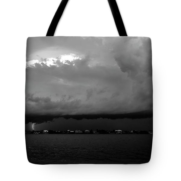 Light From The Darkness Tote Bag by David Lee Thompson