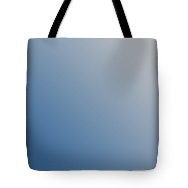 Light Gray Diagonal Ombre Tote Bag