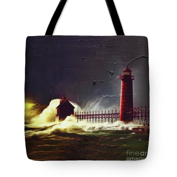 Light House 07 Tote Bag by Gull G