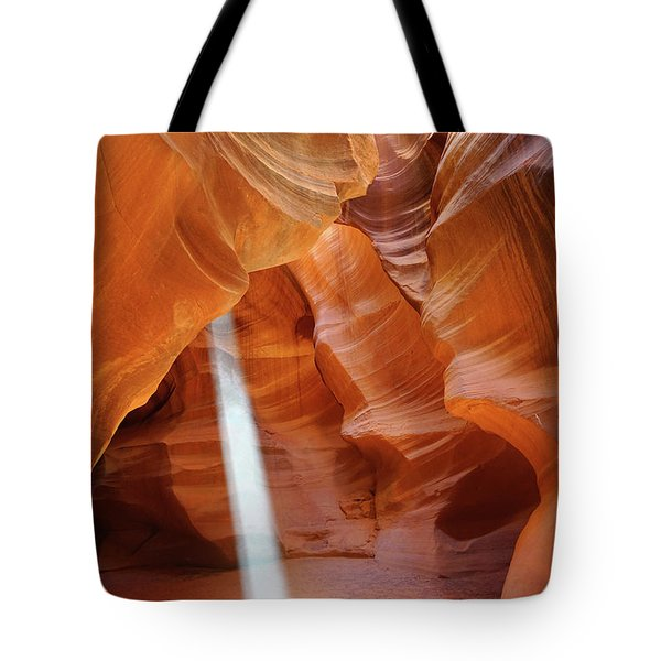 Light In Antelope Canyon Tote Bag