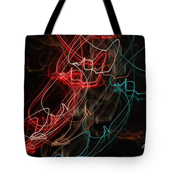 Light In Motion Tote Bag by David Lane