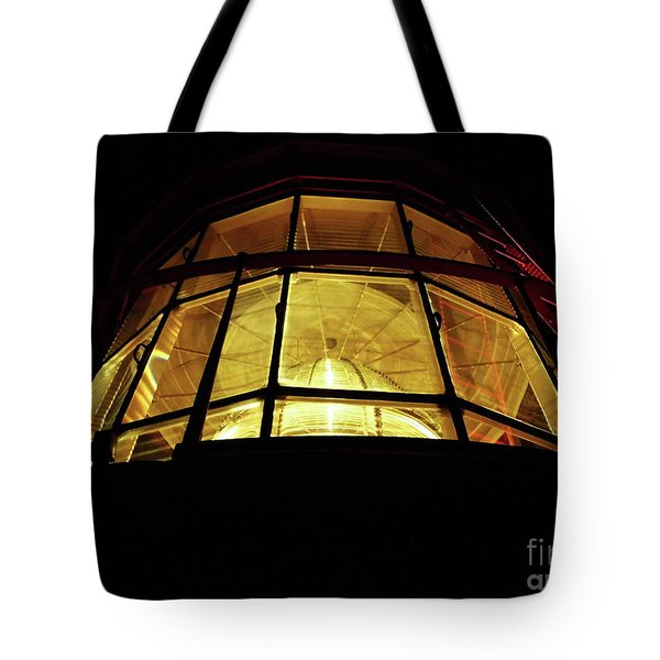 Light In The Dark Sky Tote Bag