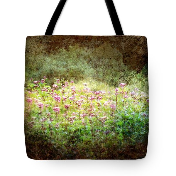 Tote Bag featuring the photograph Light In The Forest by Robin Regan