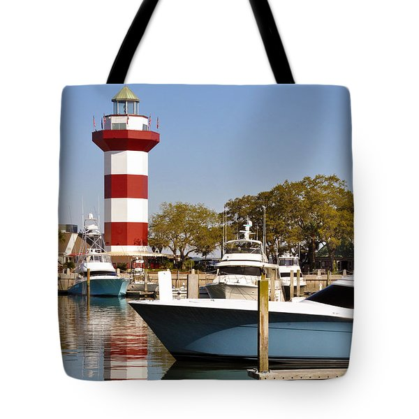 Light In The Harbor Tote Bag
