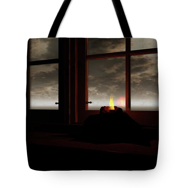 Light In The Window Tote Bag by Michele Wilson