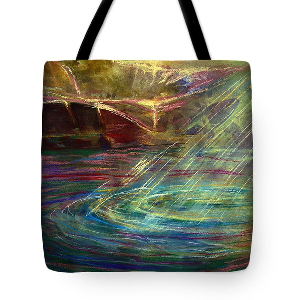 Light In Water Tote Bag by Allison Ashton