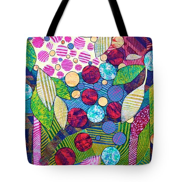 Light Infused Forest Tote Bag