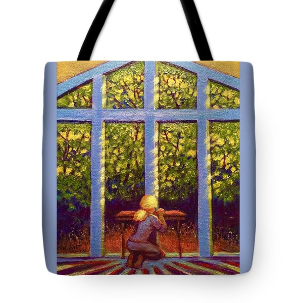 Light Lit Tote Bag