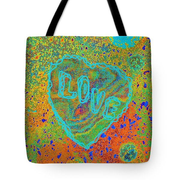 Light Love By Jasna Gopic Tote Bag