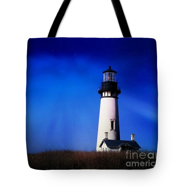 Light My Way Tote Bag by Sheila Ping