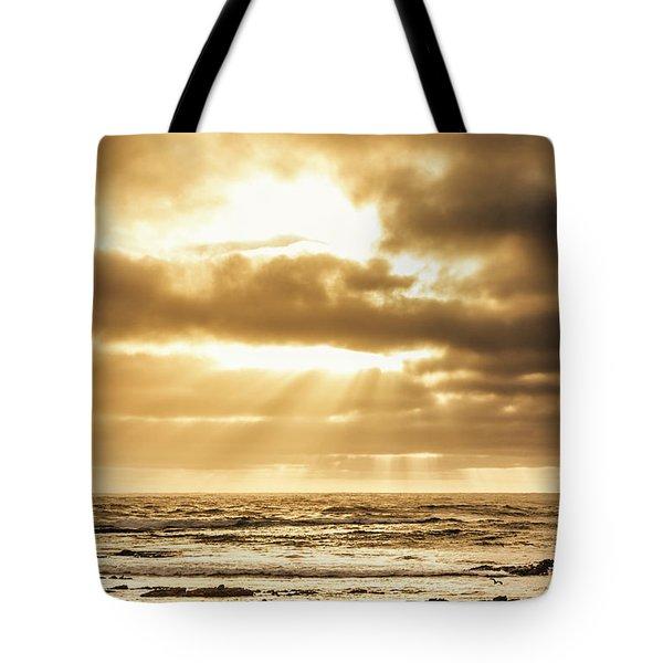 Light Of Dusk Tote Bag