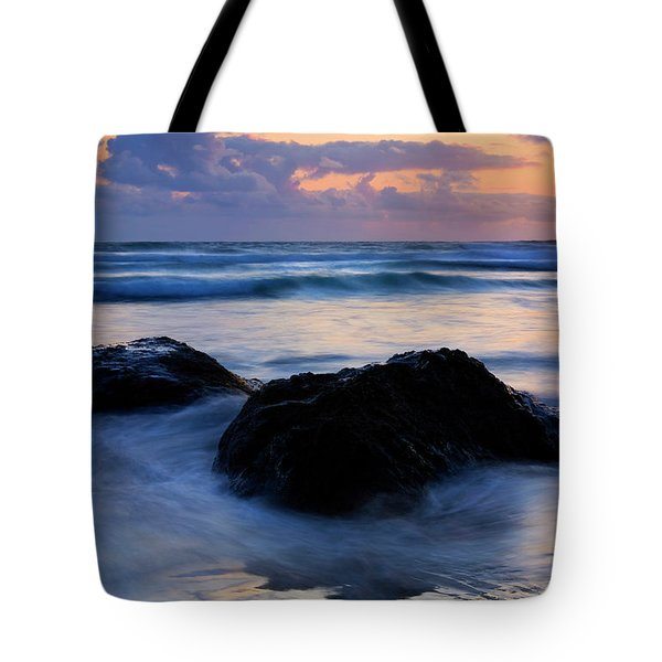 Light Of Dusk Tote Bag by Mike  Dawson