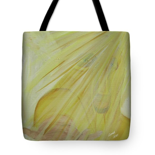 Light Of God Enfold Me Tote Bag
