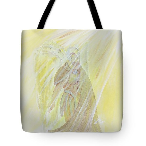 Light Of God Surround Us Tote Bag
