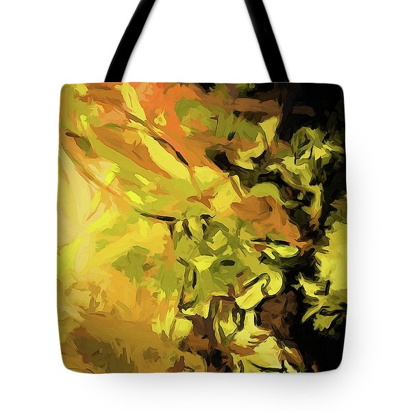 Light Of Gold Tote Bag
