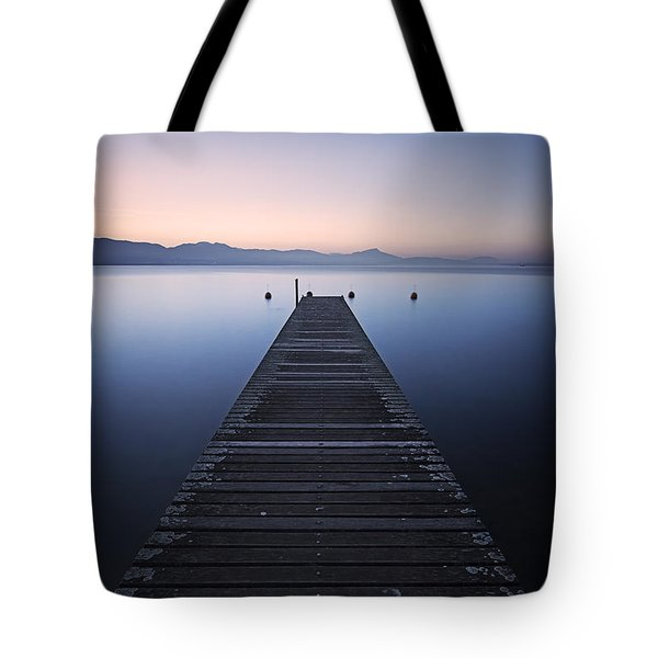Light Of Hope Tote Bag by Dominique Dubied