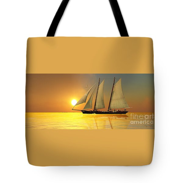 Light Of Life Tote Bag by Corey Ford