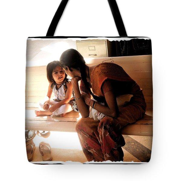 Light Of My Life- Jain Temple Mumbai Tote Bag