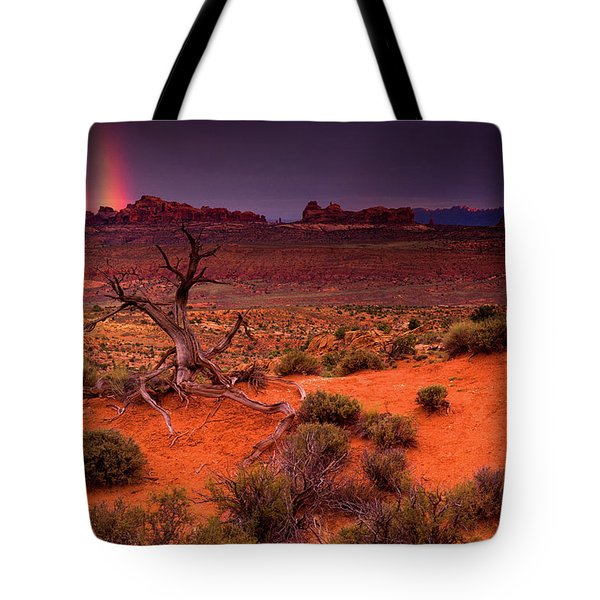 Light Of The Desert Tote Bag