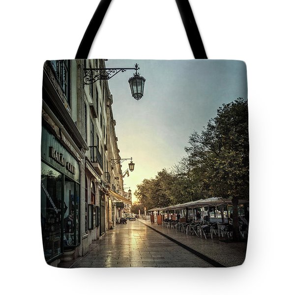 Light Of The New Day Tote Bag
