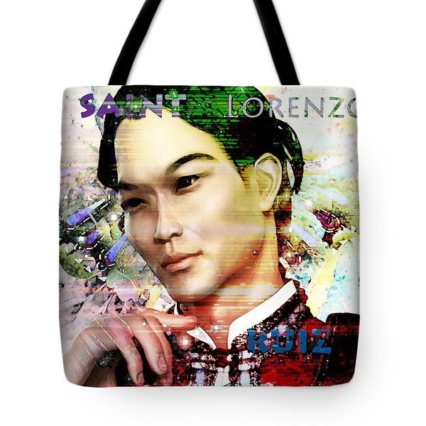 Tote Bag featuring the painting Light Of The Phillipines by Suzanne Silvir