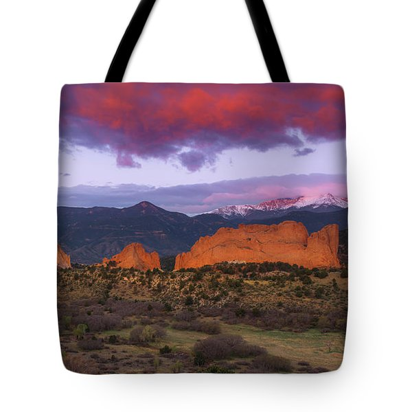 Tote Bag featuring the photograph Light Of The Sun by Tim Reaves