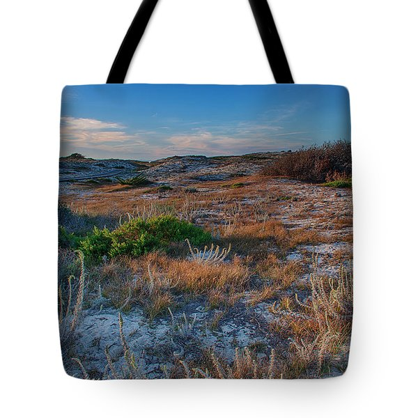 Light On The Dunes Tote Bag by Bill Roberts