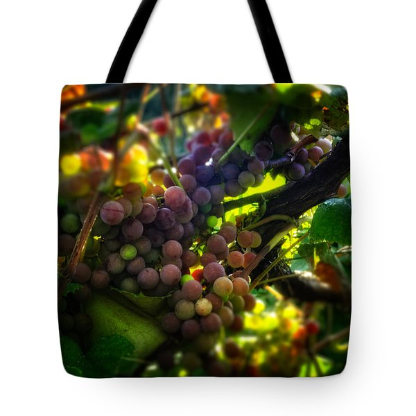 Light On The Fruit Tote Bag