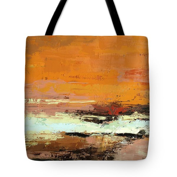 Light On The Horizon Tote Bag