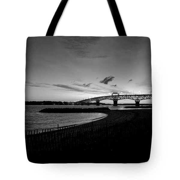 Light Over Bridge Tote Bag
