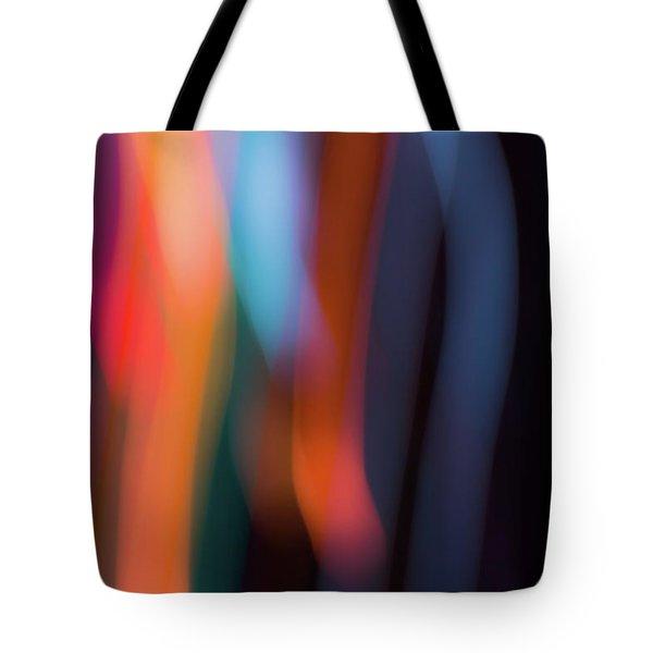 Sky And Prism Tote Bag