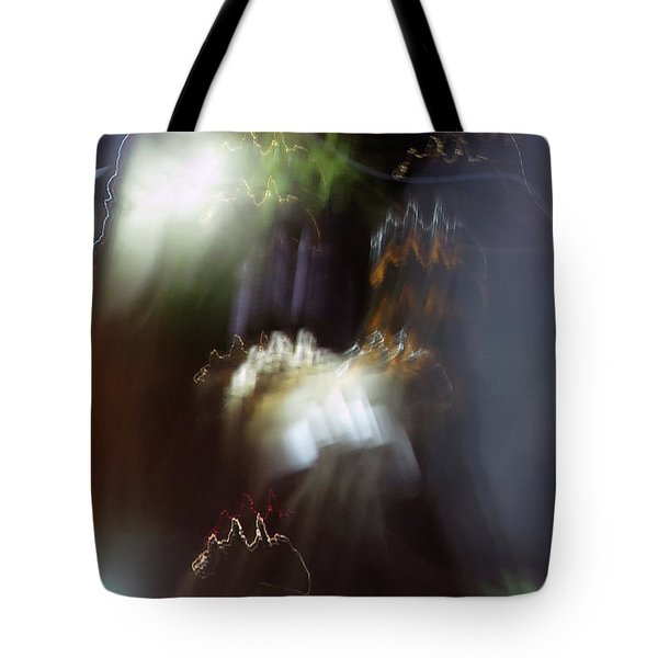 Light Paintings - No 4 - Source Energy Tote Bag