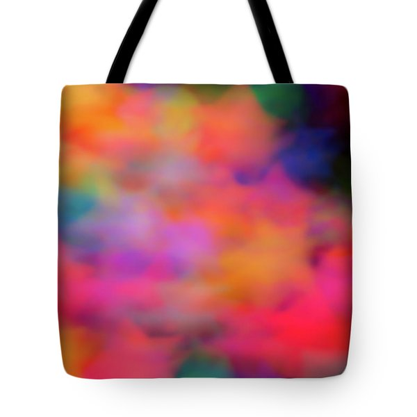 Lucky Neon Stars Tote Bag