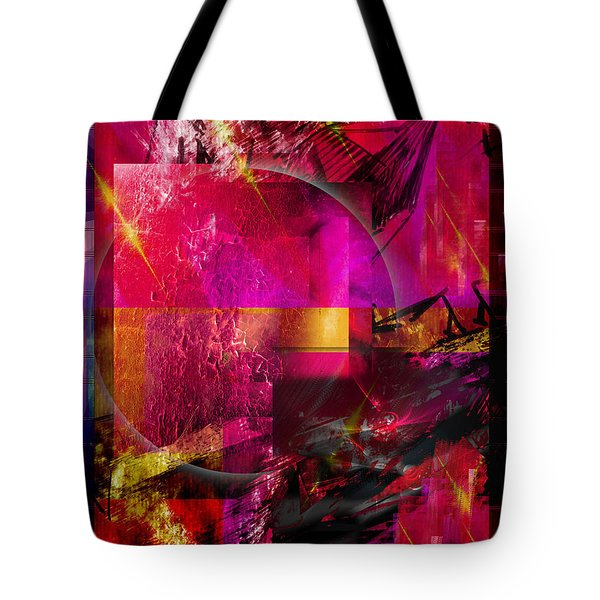 Light Particles Tote Bag