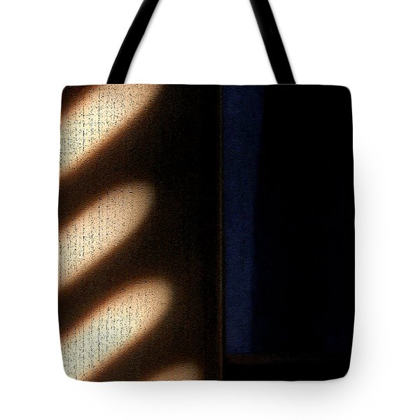 Tote Bag featuring the digital art Light Rays by Todd Blanchard