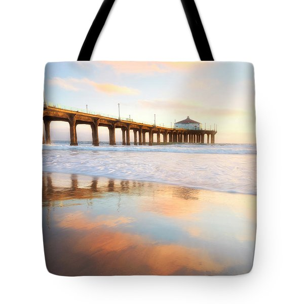 Light Reflections Tote Bag by Nicki Frates