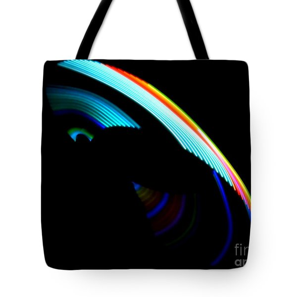 Tote Bag featuring the photograph Light Saber by Jesse Ciazza