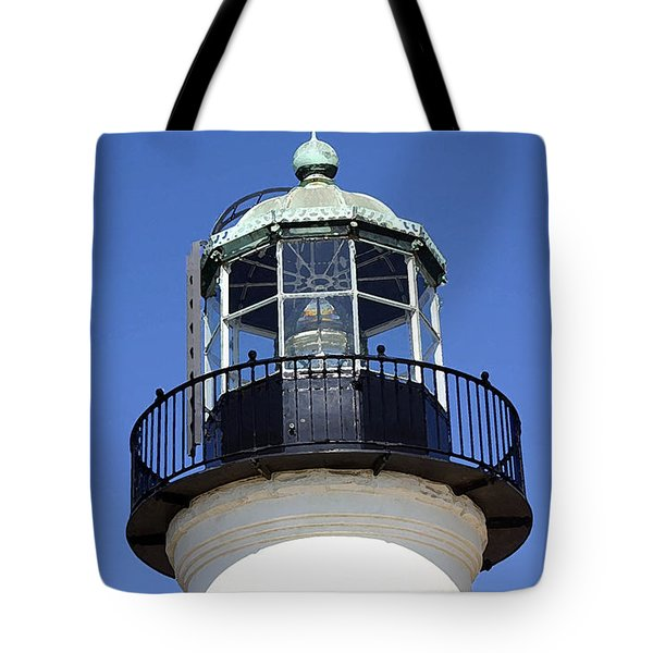 Light Sentry Tote Bag by Mary Haber