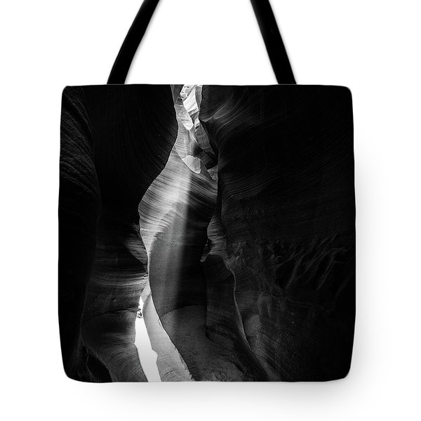 Light Shaft In Lower Antelope Canyon Tote Bag