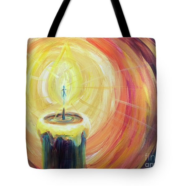 Light Shine Bright Tote Bag