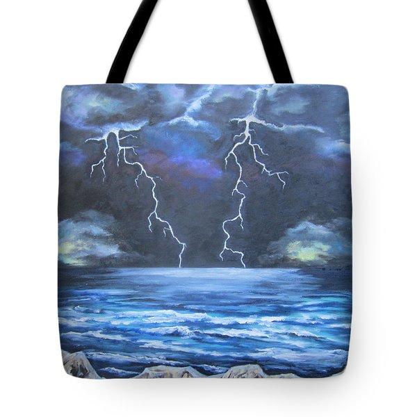 Light Show Tote Bag by Cheryl Pettigrew