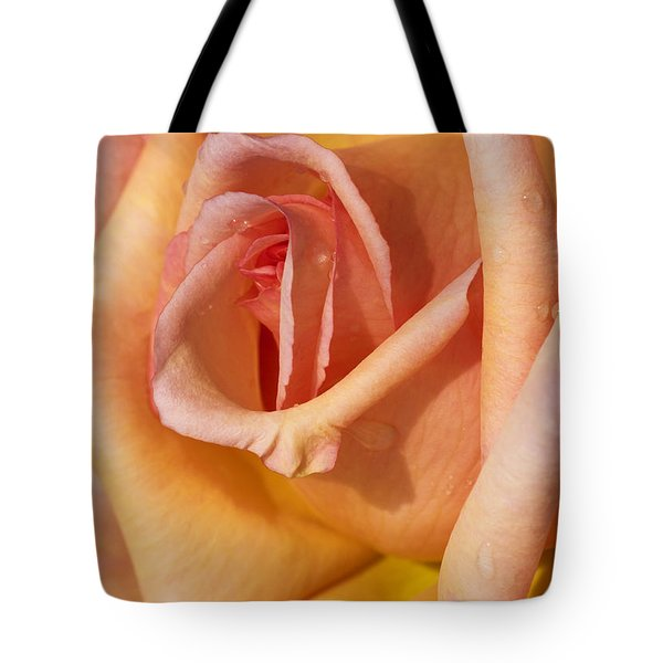 Light Shower Tote Bag by Hazy Apple