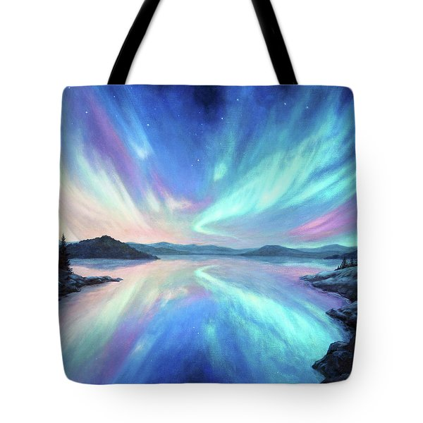 Light Storm Tote Bag