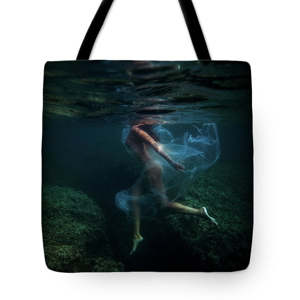 Light Suit Iv Tote Bag