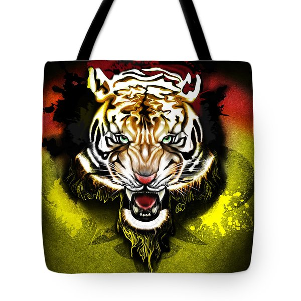 Light The Torch Tote Bag by AC Williams