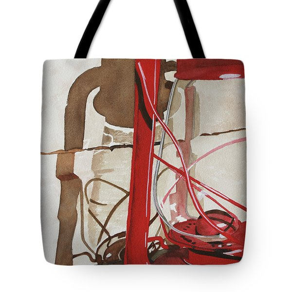 Tote Bag featuring the painting Light The Way by Cynthia Powell
