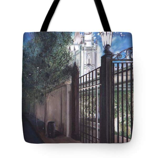 Light The World Tote Bag