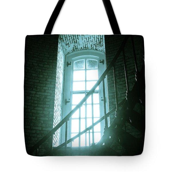 Light Through The Currituck Window Tote Bag