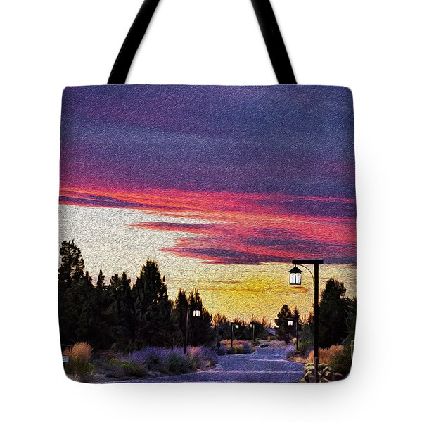 Light To My Path Tote Bag